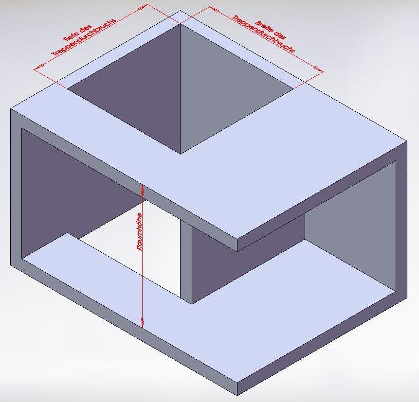 eingabe der weiteren daten fr die auslegung der treppe. Black Bedroom Furniture Sets. Home Design Ideas